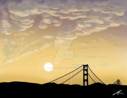 Sunset - San Francisco by MarvinGabriel