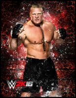 Brock Lesnar by ThexRealxBanks