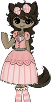 Adopt Auction - Lolita Werewolf - CLOSED by rosie-wosie
