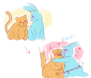 Rabbit And Cat pt. 2 by dongoverlord