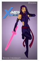 X-Men - Psylocke Redesign by Femmes-Fatales