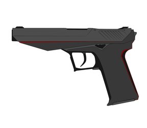 Nod Pistol Concept I (No Attachments) by Xenus888
