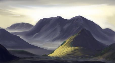 Some Mountains I Guess by Netaro