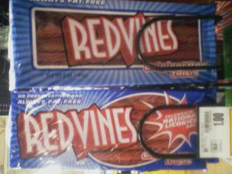 REDVINES IN PERSON by LeopardBrightsky