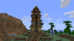 mountain guard tower. by ethan-k793