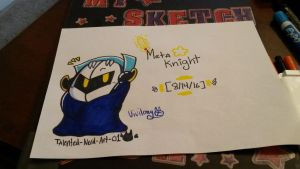 Meta Knight by vivilong