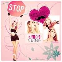 Pack PNG CL (2NE1) by GAJMEditions