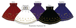 Resplendent Nightmare Skirt Designs by MissChubi