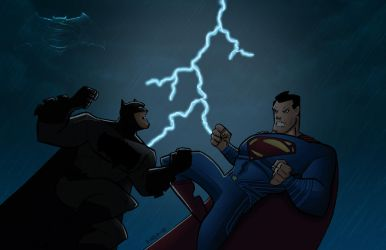 Batman vs Superman by Salvador-Raga