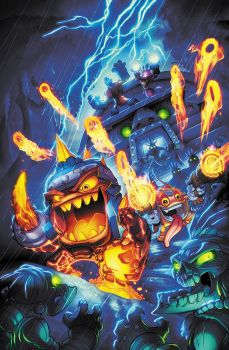 Unreleased Skylanders Cover by RobDuenas