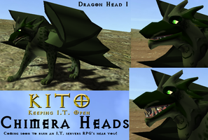 KITO - Dragon Head by Some-Art