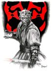 Maul Commission Seven by Quadcabbage