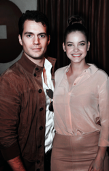 Henry Cavill and Barbara Palvin