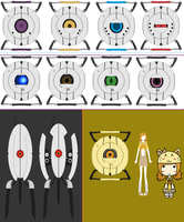 My Portal Collection by Miserable-in-Orange