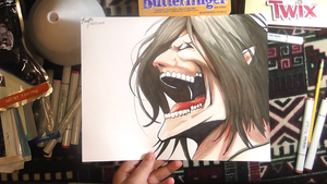 Art Giveaway! Attack on Titan by RaidFox