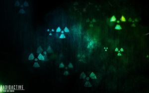 Radioactive wallpaper by teundenouden
