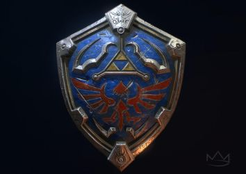 Hylian Shield by Nick-A-D