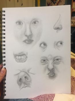 Faces by iheartanime14