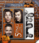 One Direction Png Pack by Fuckthesch00l