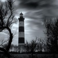 Dark lighthouse by marcopolo17