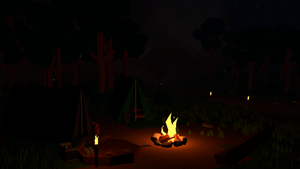 Monthly CG Challenge #1 - Camping by Daragos90