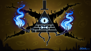 Bill Cipher by arthcor