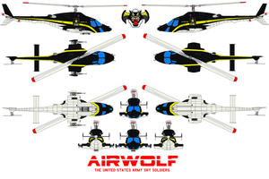 AIRWOLF SKY SOLDIER by bagera3005