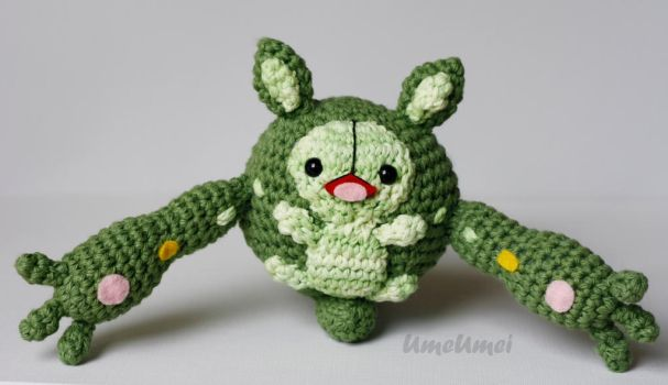 Reuniclus Amigurumi Doll by umeumei