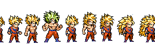 Super saiyan forms lswi by yurestu