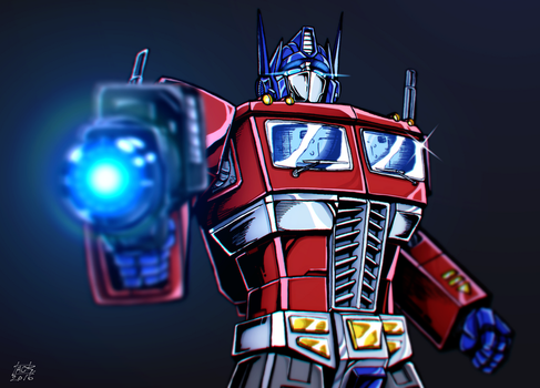 G1 Optimus Prime by k-tack