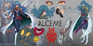 RWBY OC Commission: Alceme by AnonymousBlank