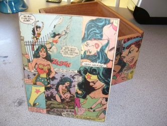 Wonder Woman Keepsake Box by UnderdogGirl