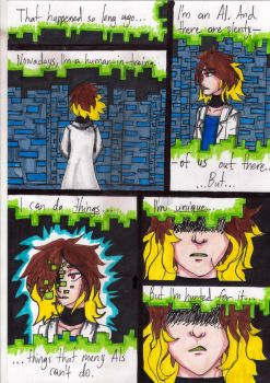 Cracked Identity (Webcomic) EP1 / Pg. 2 by PeanutGallerySeth
