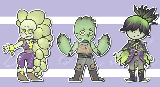 Succulents Adopts 1 by Leemak