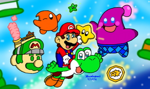 Super Mario Galaxy 2 by MarioSimpson1