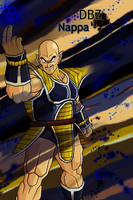 Dragon Ball Z Nappa by slowboyazn