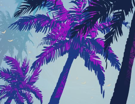 Palm Tree Situation by DanNortonArt