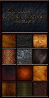 50 Colorful Leather Textures by DiZa-74