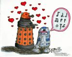 The Amourous Dalek tries again by ParallelPenguins
