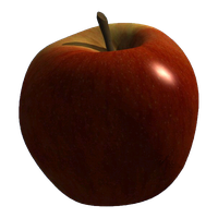 cut out apple by SolStock