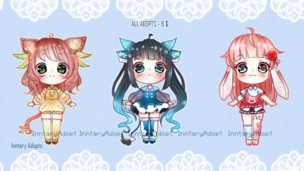 Kawaii Adopts #3 [CLOSED] by Inntary