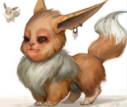 EEVEE - Old version by SoupAndButter