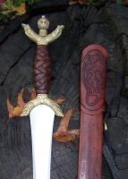 Finished Celtic Long Sword 3 by michaelao