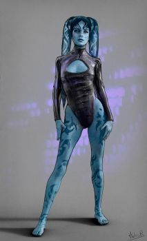 Twi'lek Dancer by Hidrico