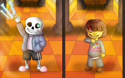 Undertale, Bad time by Millemoo2010