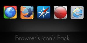 Brawser's icon's pack by DHOOM-N