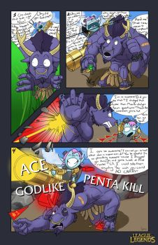 League of Legends cartoon by bLangston