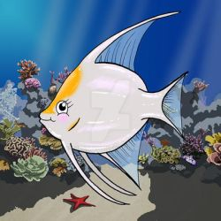 Annabelle the Angelfish by Gregatron