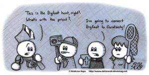 The Bigfoot Mission by AK-Is-Harmless