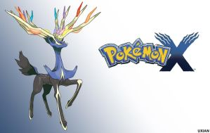 Pokemon X Wallpaper - Xerneas by UxianXIII